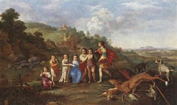 Children Of Frederick V Prince Elector Of Pfalz And King Of Bohemia