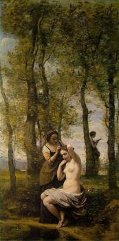 Le Toilette (Landscape with Figures)