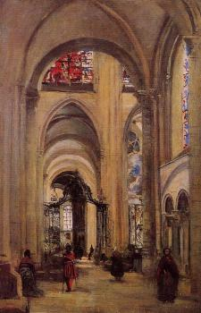 Interior of Sens Cathedral