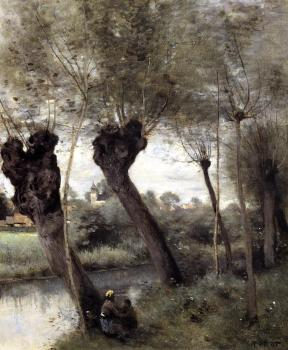 Saint-Nicholas-les-Arras, Willows on the Banks of the Scarpe