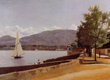 The Quai des Paquis in Geneva