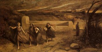 Jean-Baptiste-Camille Corot : The Destruction of Sodom