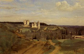 Jean-Baptiste-Camille Corot : View of Pierrefonds