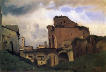 Jean-Baptiste-Camille Corot : Basilica of Constantine