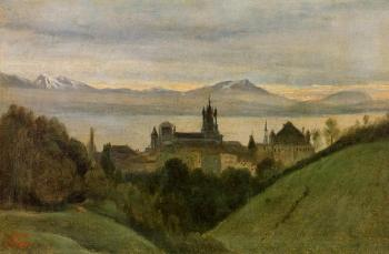 Jean-Baptiste-Camille Corot : Between Lake Geneva and the Alps