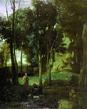 Jean-Baptiste-Camille Corot : Democritus and the Abderiti