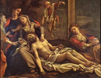 Correggio : Deposition from the Cross