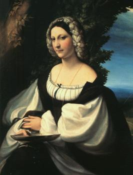 Correggio : Portrait of a Gentlewoman