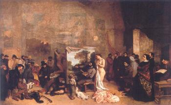 Gustave Courbet : The Artist's Studio (A True Allegory Concerning Seven Years of My Artistic Life)