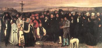 Gustave Courbet : Burial at Ornans