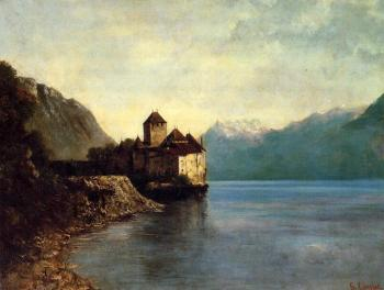 Gustave Courbet : Chateau du Chillon