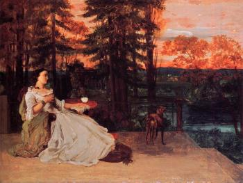 Gustave Courbet : The Lady of Frankfurt