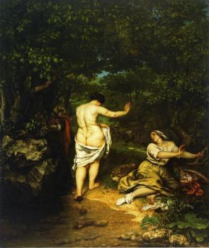 Gustave Courbet : The Bathers