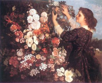 Gustave Courbet : The Trellis