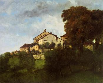 Gustave Courbet : The Houses of the Chateau d'Ornans II