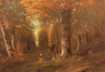La Foret En Automne (Forest in Autumn)