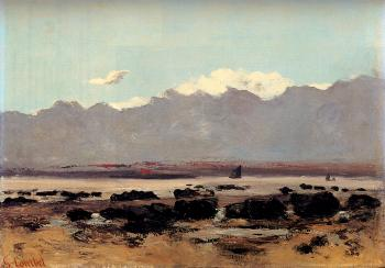 Gustave Courbet : Seascape Near Trouville