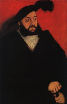 Lucas The Elder Cranach : John, Duke of Saxony