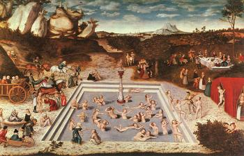 Lucas The Elder Cranach : The Fountain Of Youth