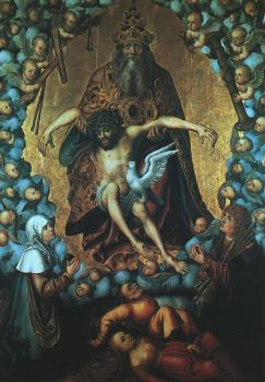 Lucas The Elder Cranach : The Trinity