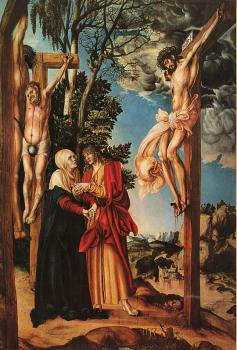 Lucas The Elder Cranach : The Crucifixion