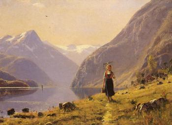 Hans Dahl : By The FJord