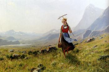 Hans Dahl : In The Mountains