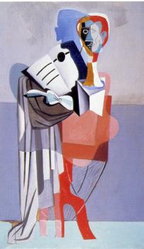 Cubist Figure(Homage to Erik Satie)