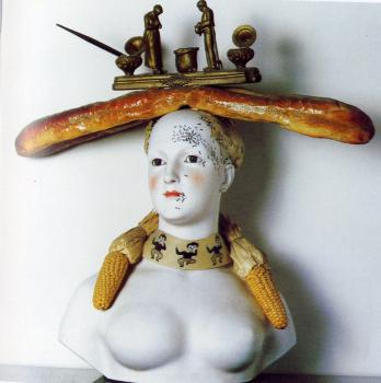 Retrospective Bust of a Woman