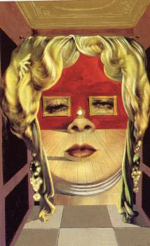 Salvador Dali : Mae West's Face which May Be Used as a Surrealist Apartment