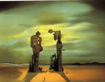 Salvador Dali : Archaeological Reminiscence of Millet's Angelus