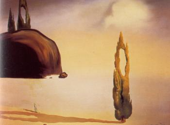 Salvador Dali : The Echo of the Void