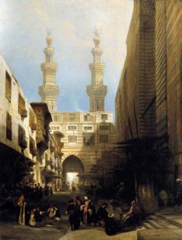 David Roberts : A View In Cairo