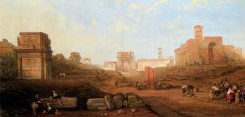 David Roberts : The Approach To The Forum
