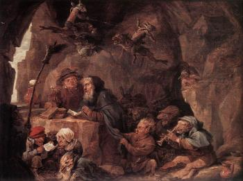 David Teniers The Younger : Temptation Of St Anthony