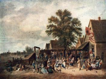 David Teniers The Younger : The Village Feast