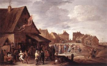 David Teniers The Younger : Village Feast