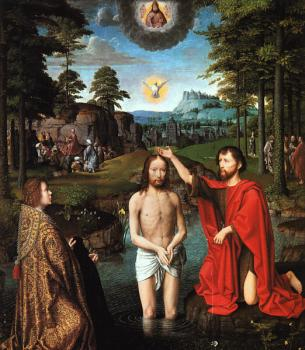 Gerard David : Triptych of Jan Des Trompes
