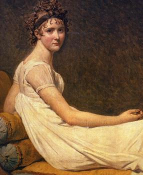 Jacques-Louis David : Madame Recamier