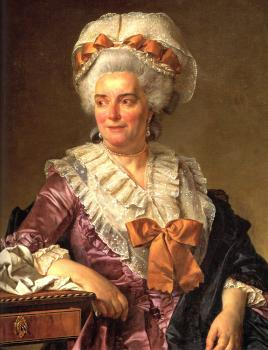 Jacques-Louis David : Portrait of Genevieve Jacqueline Pecoul