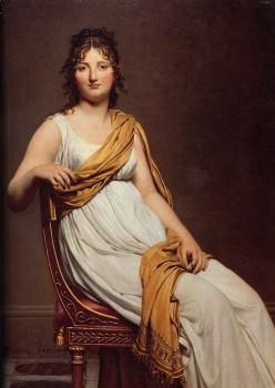 Jacques-Louis David : Portrait of Henriette de Verninac