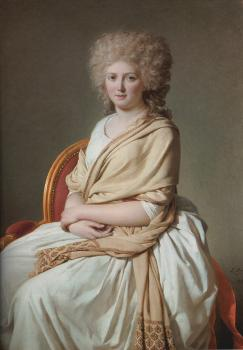 Jacques-Louis David : Portrait of Anne-Marie-Louise Thelusson, Comtesse de SorcyPortrait of Anne-Marie-Louise Thelusson, Comtesse de Sorcy