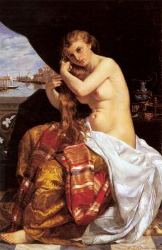 Jacques-Louis David : Venitienne A Sa Toilette (Venetian Lady at Her Toilette)