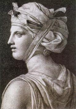 Jacques-Louis David : Woman in a Turban