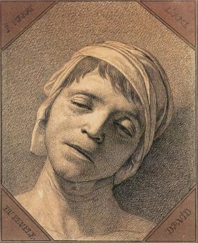 Jacques-Louis David : Head of the Dead Marat