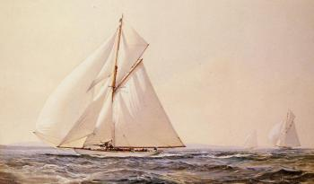 Montague Dawson : A Yachting Competition