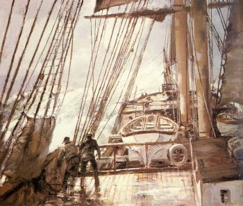 Montague Dawson : Days of Old