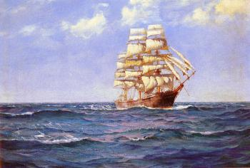 Montague Dawson : Rollicking Days