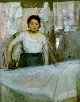 Edgar Degas : Woman Ironing