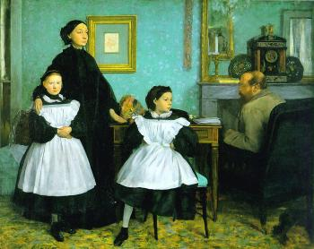 Edgar Degas : The Bellelli Family